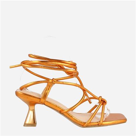 Sneaker Moka Blanco-Azul