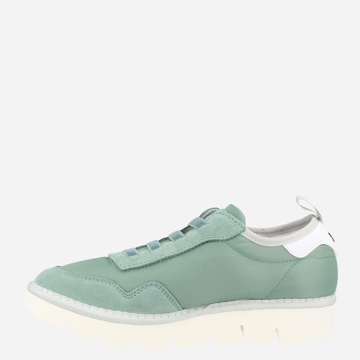 Sneaker Moka Blanco-Gris