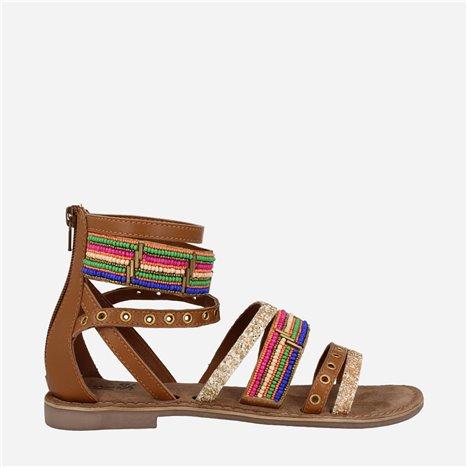 Sneaker Dream Balnco-Taupe