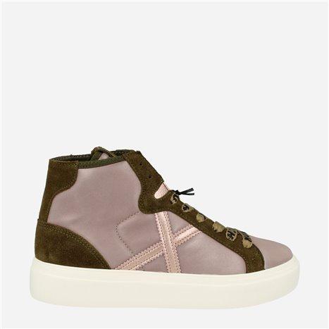Sneaker Moka Blanco-Negro